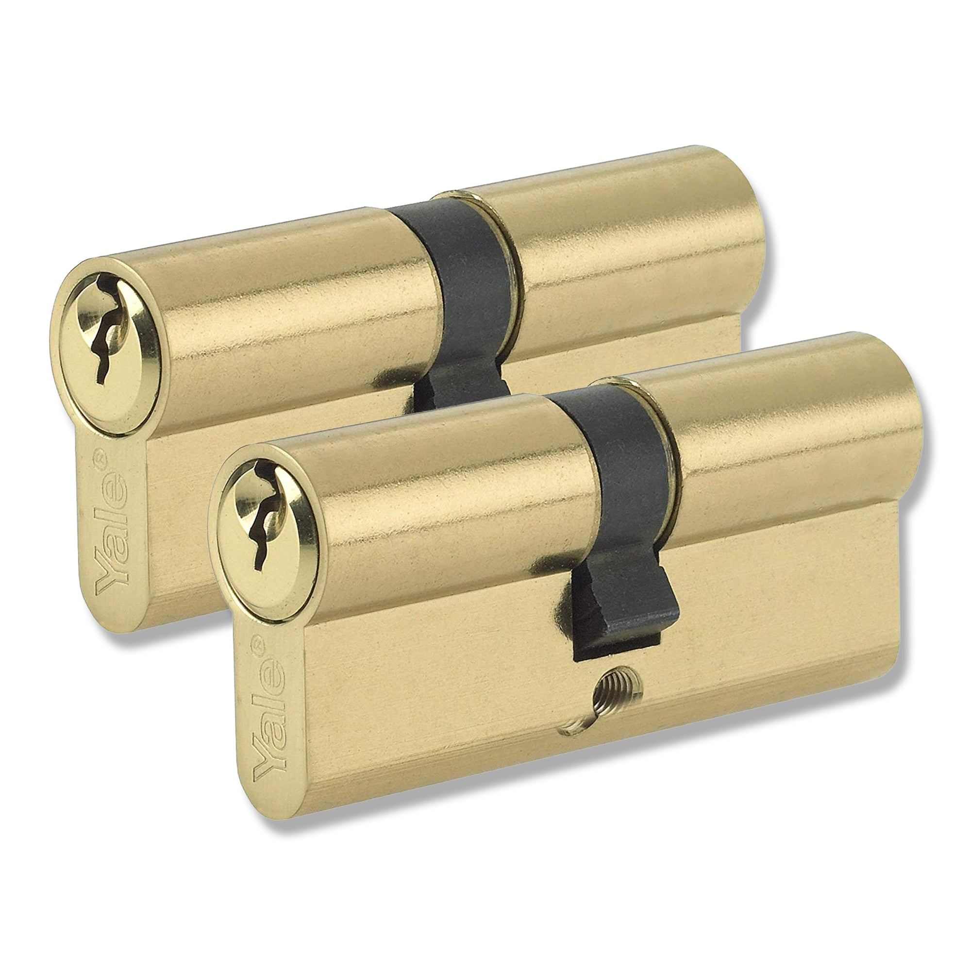 Yale  40 / 50 Euro Cylinder Lock uPVC Timber Door Barrel Keyed Alike -  - Yale - UPVCSTORE
