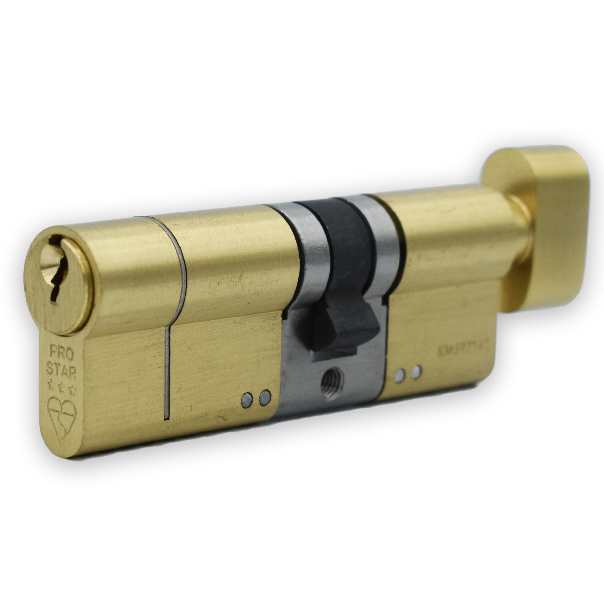 Pro Star High Security 3 Star Euro Cylinder ( 35 T / 50 ) -  - Pro Star - UPVCSTORE