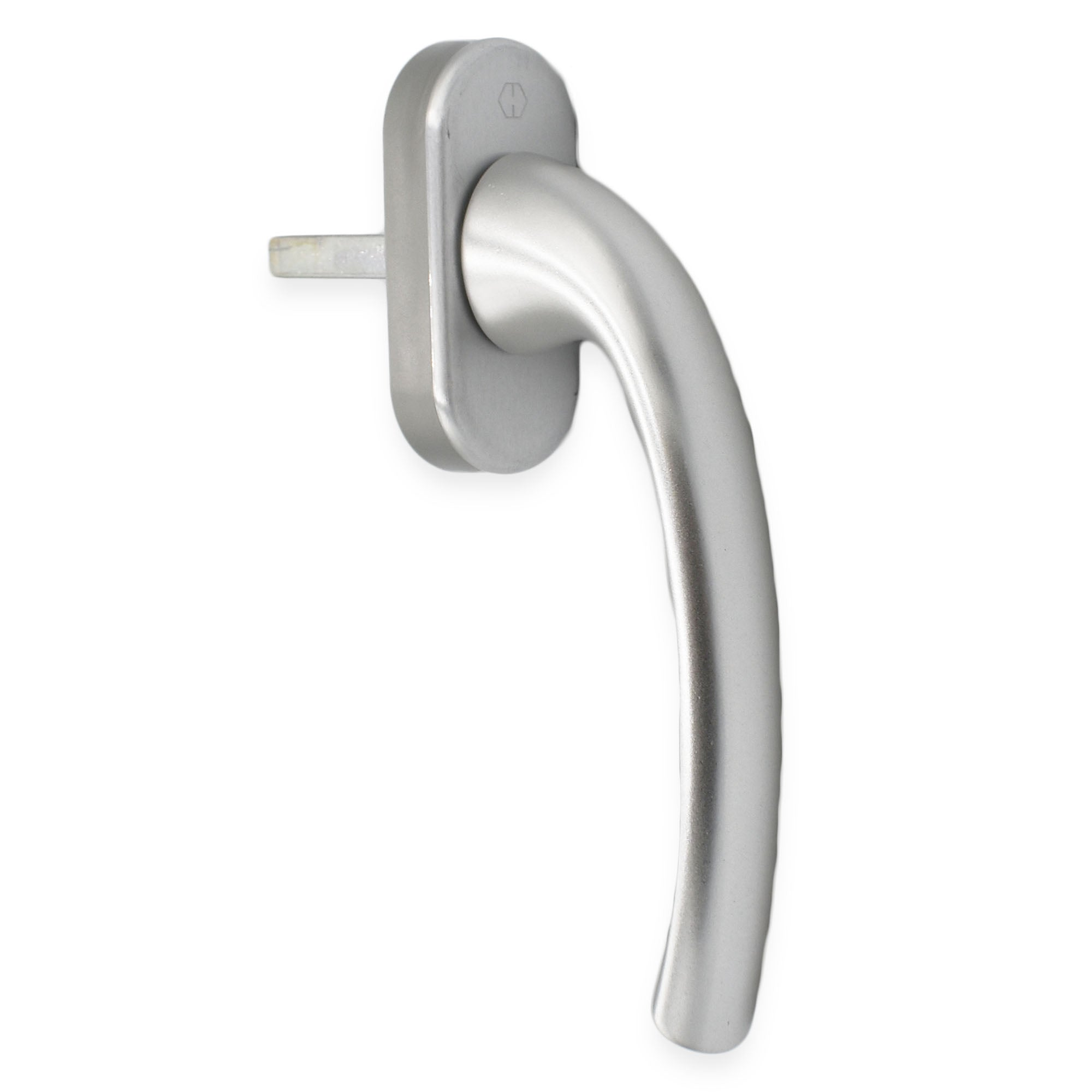 Hoppe Chrome Tilt and Turn Window Handle T & T Non Locking TBT UPVC & Timber Windows -  - Hoppe - UPVCSTORE