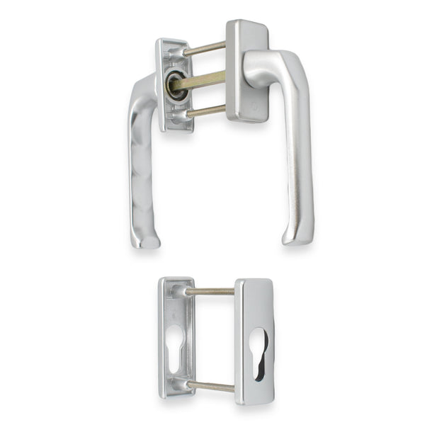Tilt & Slide Patio Door Handle Set UPVC Doors Hoppe Paris Lever Pair Set -  - Hoppe - UPVCSTORE