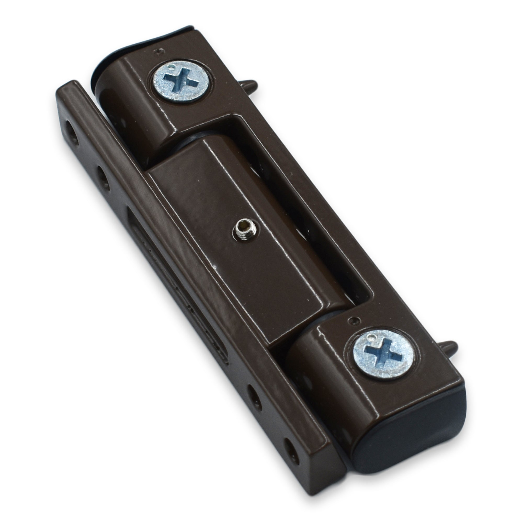 Upvc Double Glazed Butt Hinge Angled 100mm Brown Upvc Door Hinge -  - UPVCSTORE - UPVCSTORE