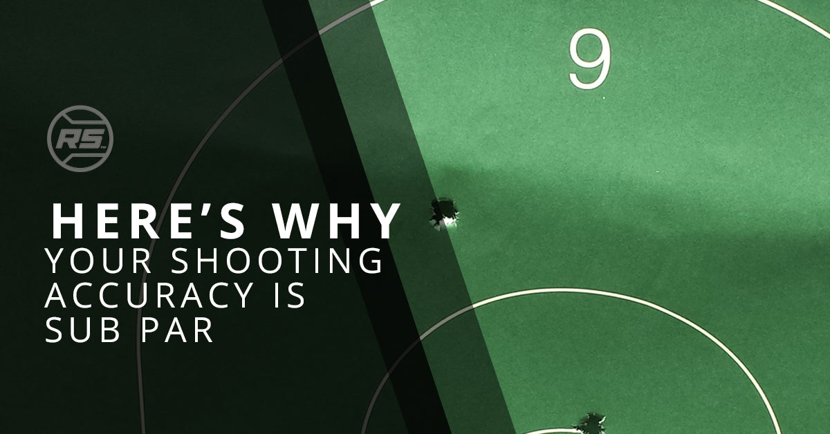 Here's Why Your Shooting Accuracy Is Sub Par