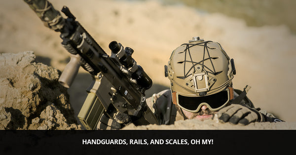 AR 15 Upper Customization: Handguards, Rails, and Scales, Oh My!