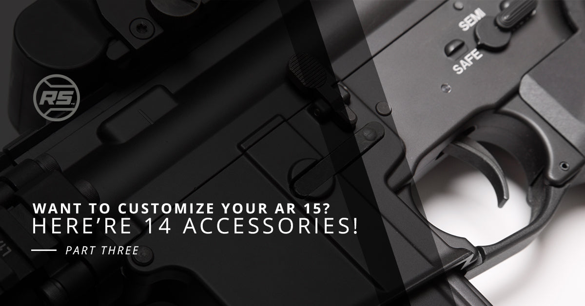Hand Stop Want To Customize Your Ar 15 Here Are 14 Accessories