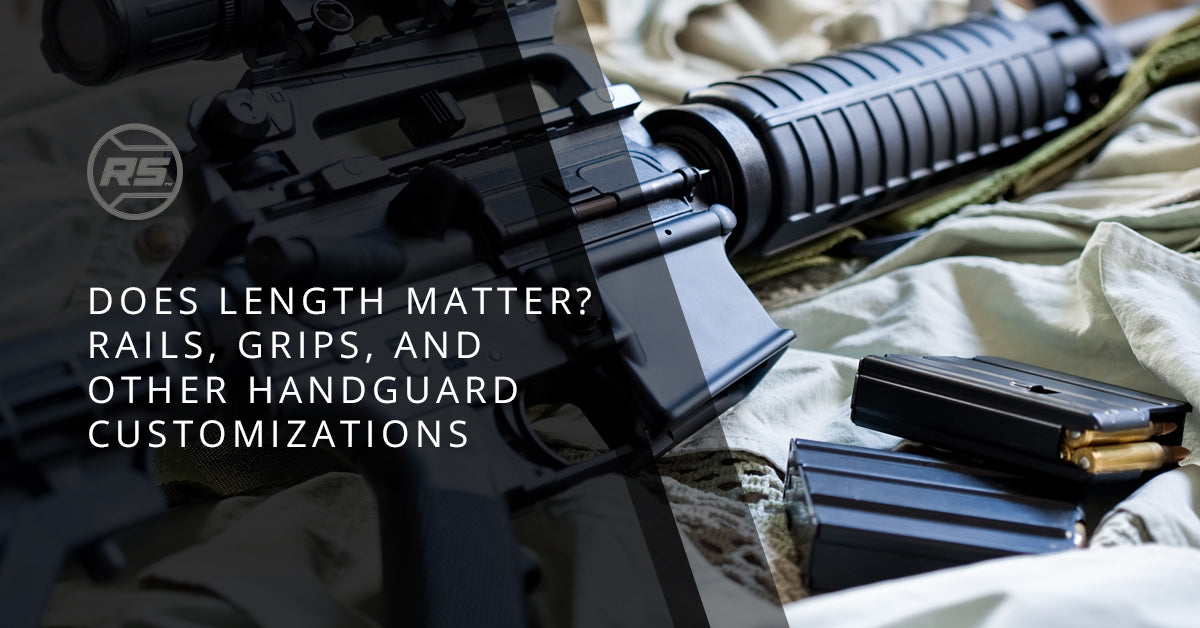 AR 15 Rail Grips, Lengths, And Other Options - RailScales LLC