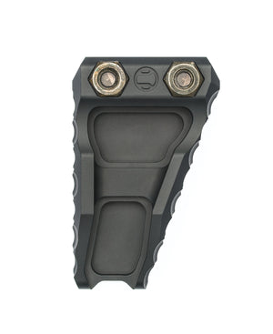 A black LDAG AR15 hand grip.