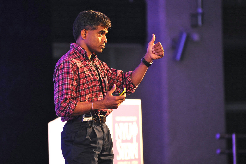 Prof. Aswath Damodaran at conference