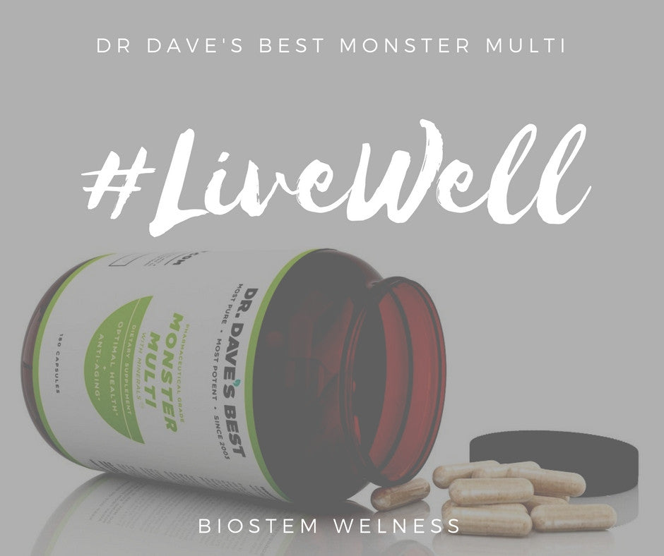 Dr. Dave's Best Monster Multi with Minerals