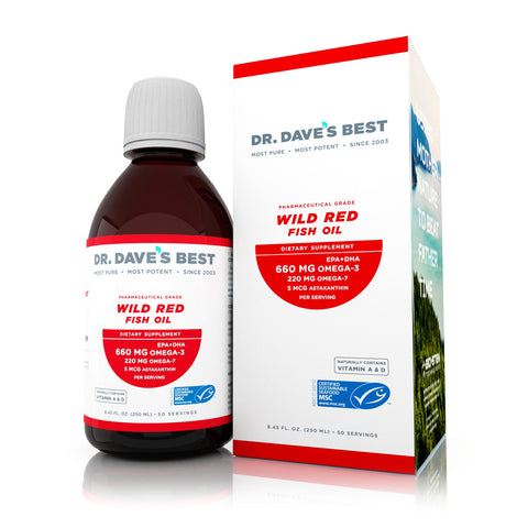 Dr. Daves Best Wild Red Fish Oil
