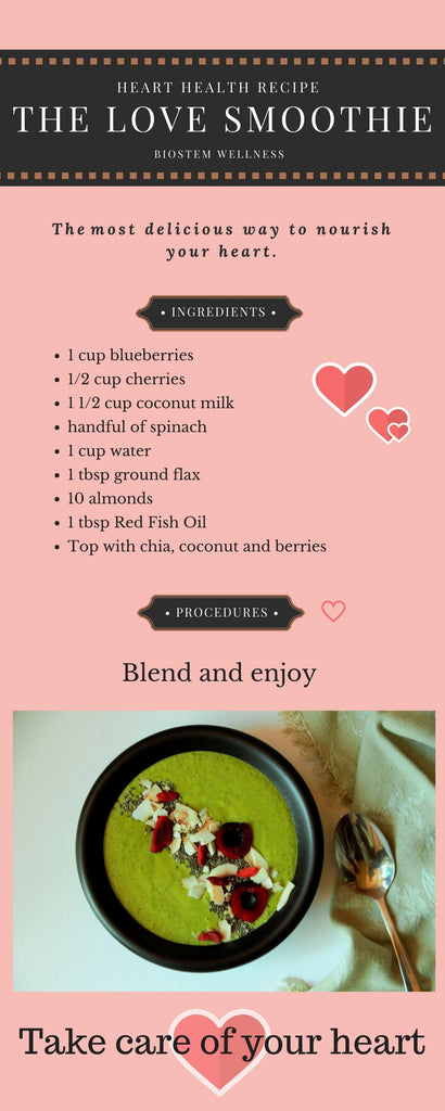 Heart Health Smoothie Recipe