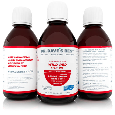 Omega 7 red fish oil from Dr. Dave's Best