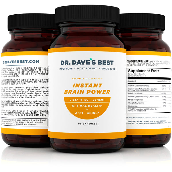 Dr. Dave's Best Instant Brain Power