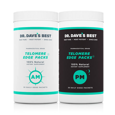 Supplements that reverse aging due to telemere shortening