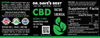 Dr. Dave's Best Full Spectrum CBD Sublingual Tinctures 750mg (Natural Flavor)