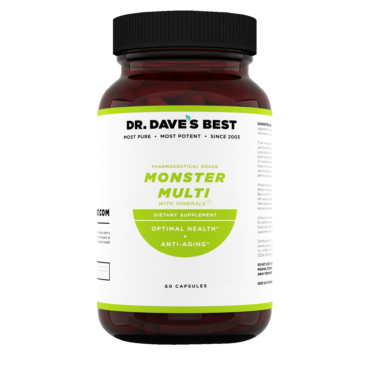 Dr. Dave's Best Monster Multi Vitamin