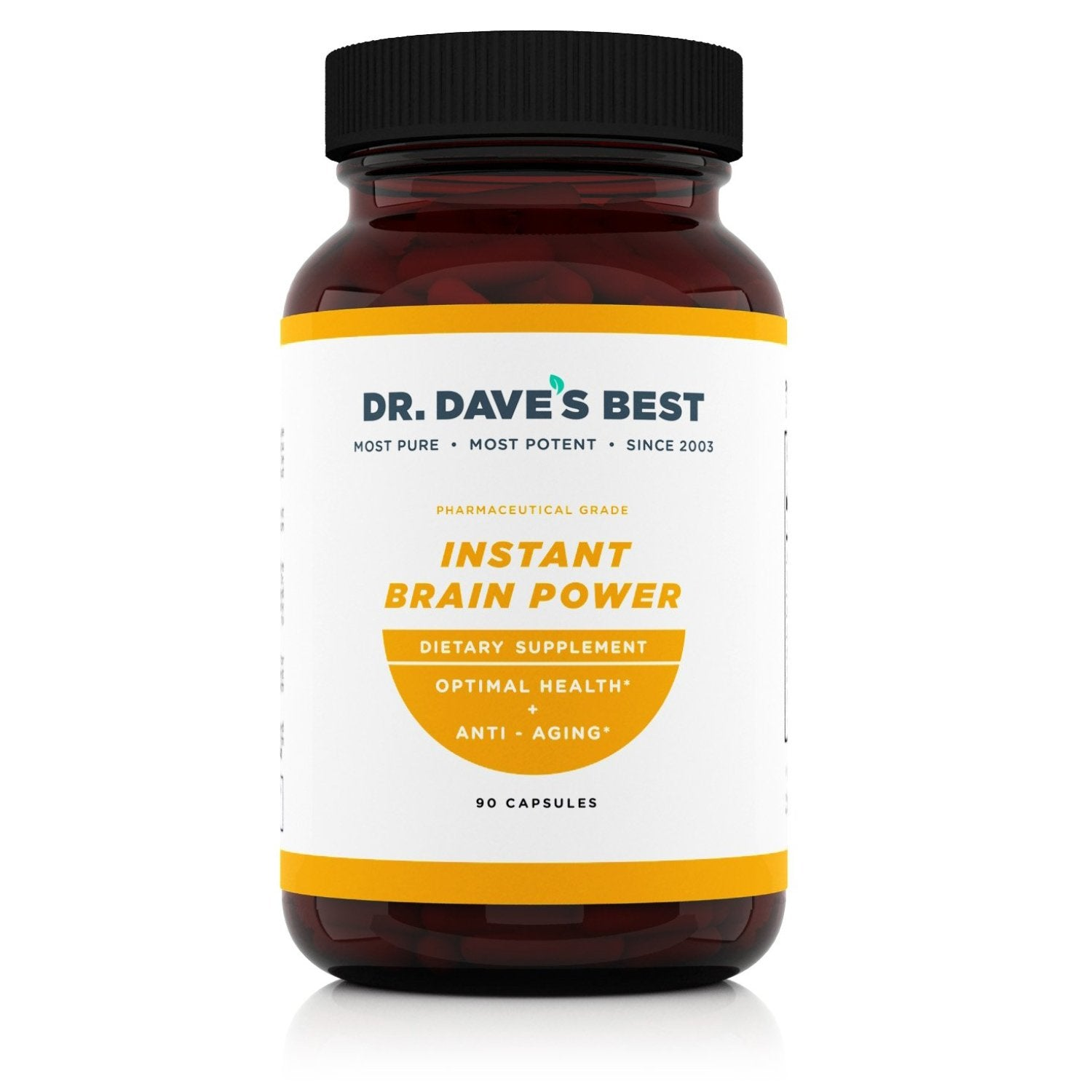 Dr. Dave's Best Instant Brain Power - DrDavesBest