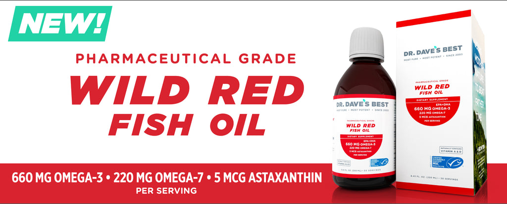 Dr. Dave's Best Wild Red Liquid Fish Oil