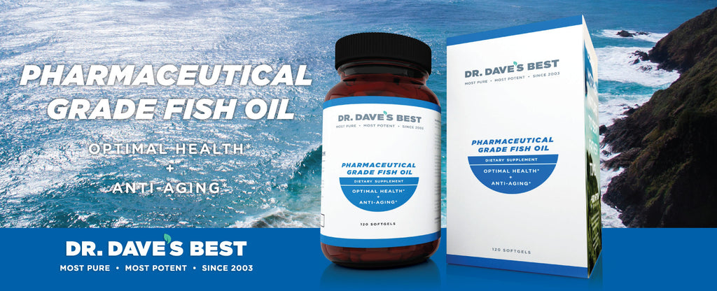 Dr. Dave's Best Pharmaceutical Grade Fish Oil