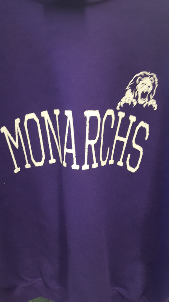 Monarch crew neck