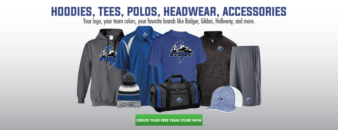 Start a FREE Online Team Store Today.