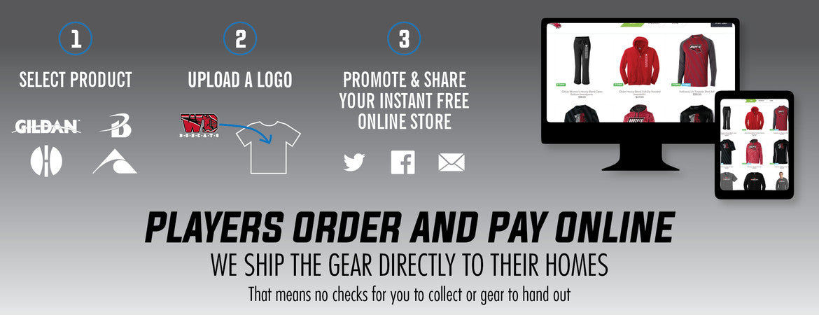 Team Stores are Easy, get one started today!