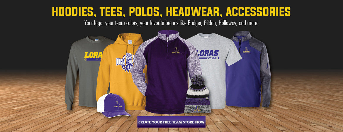 College Basketball Fan Apparel Team Store