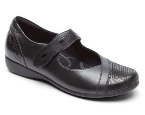 black mary jane by aravon at cartan's shoes