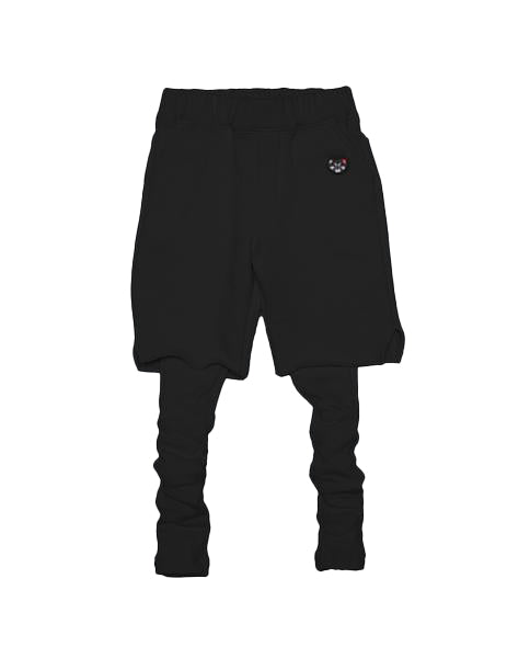 Layered Shorts (Black)