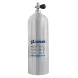 Scubair S63xv - 63cf Aluminium SCUBA Tank with combo valve - 207 Bar - Air Tanks paintball