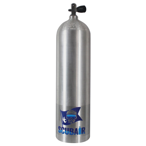 S80xv - 80cf Alloy Scuba Diving Tank with combo valve - 207 Bar - Air Tanks paintball