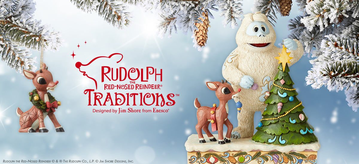 Rudolph Traditions by Jim Shore