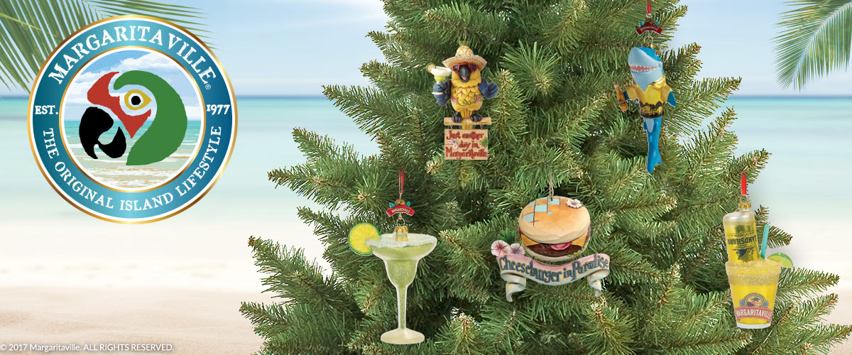 Margaritaville Christmas Ornaments