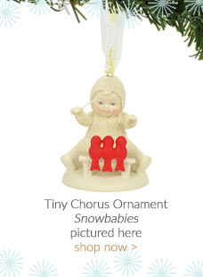 Snowbabies Tiny Chorus Ornament