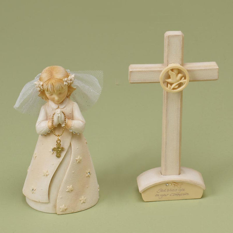 Communion Girl Set with Cross