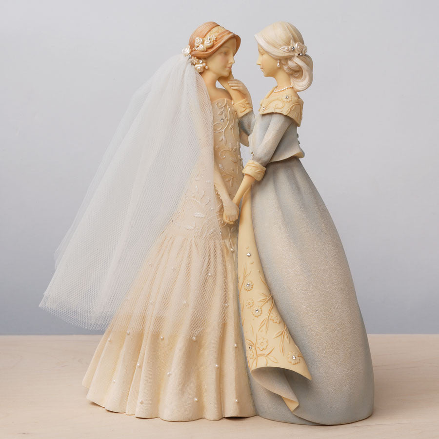 Mother and Bride Figurine Set