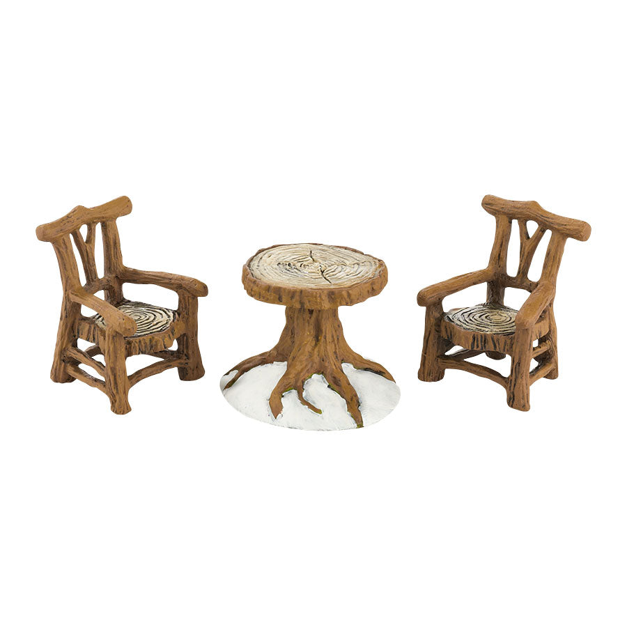Woodland Table & Chairs