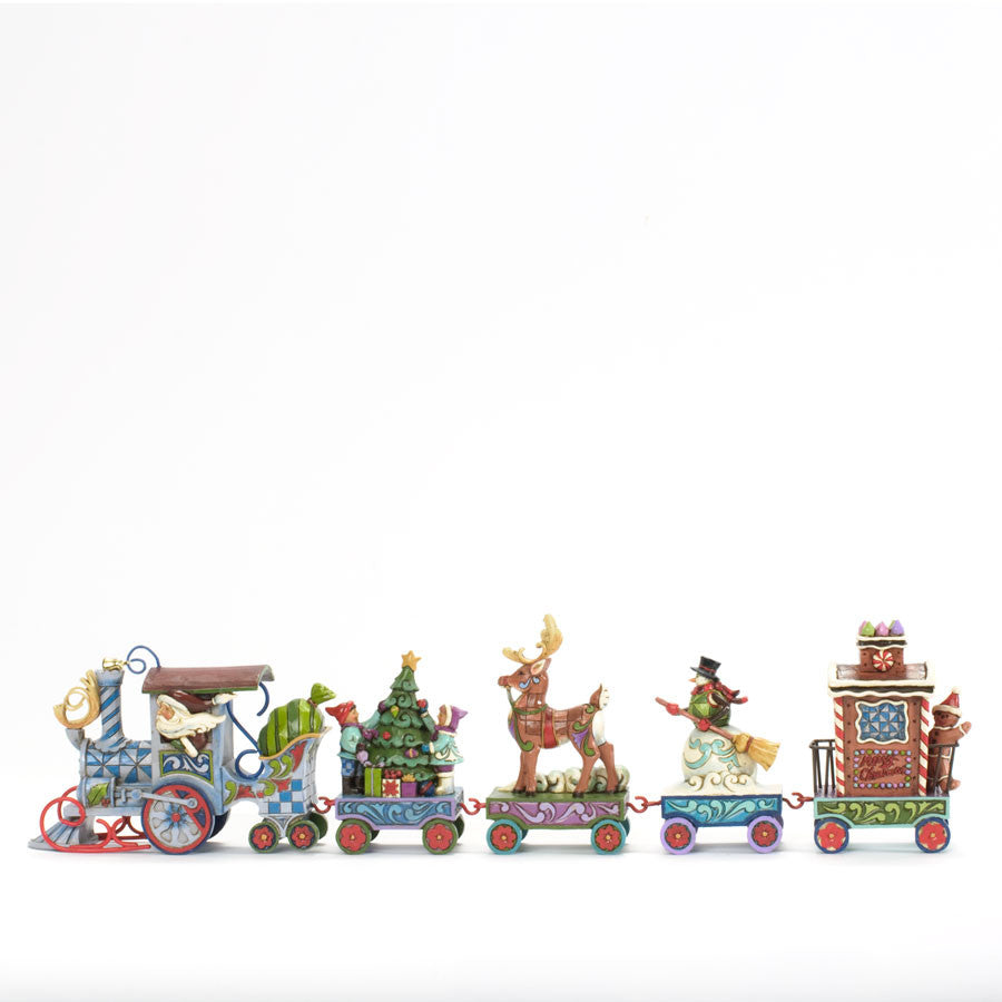 Holiday Express Train 5 Pc Set