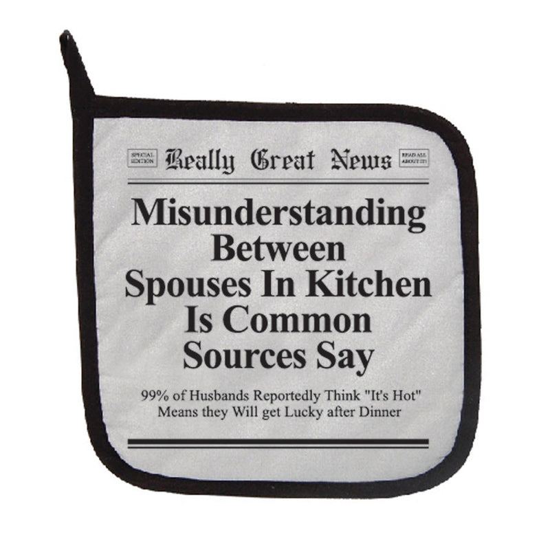 Misunderstandings Pot Holder