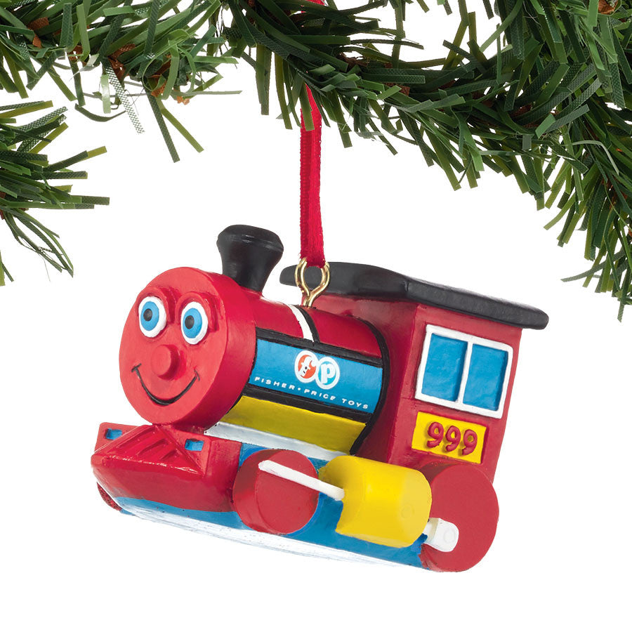 Huffy Puffy Train Ornament