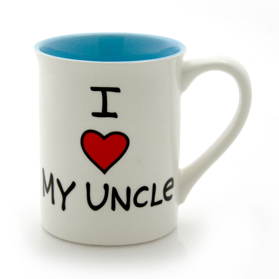 I Heart My Uncle Mug