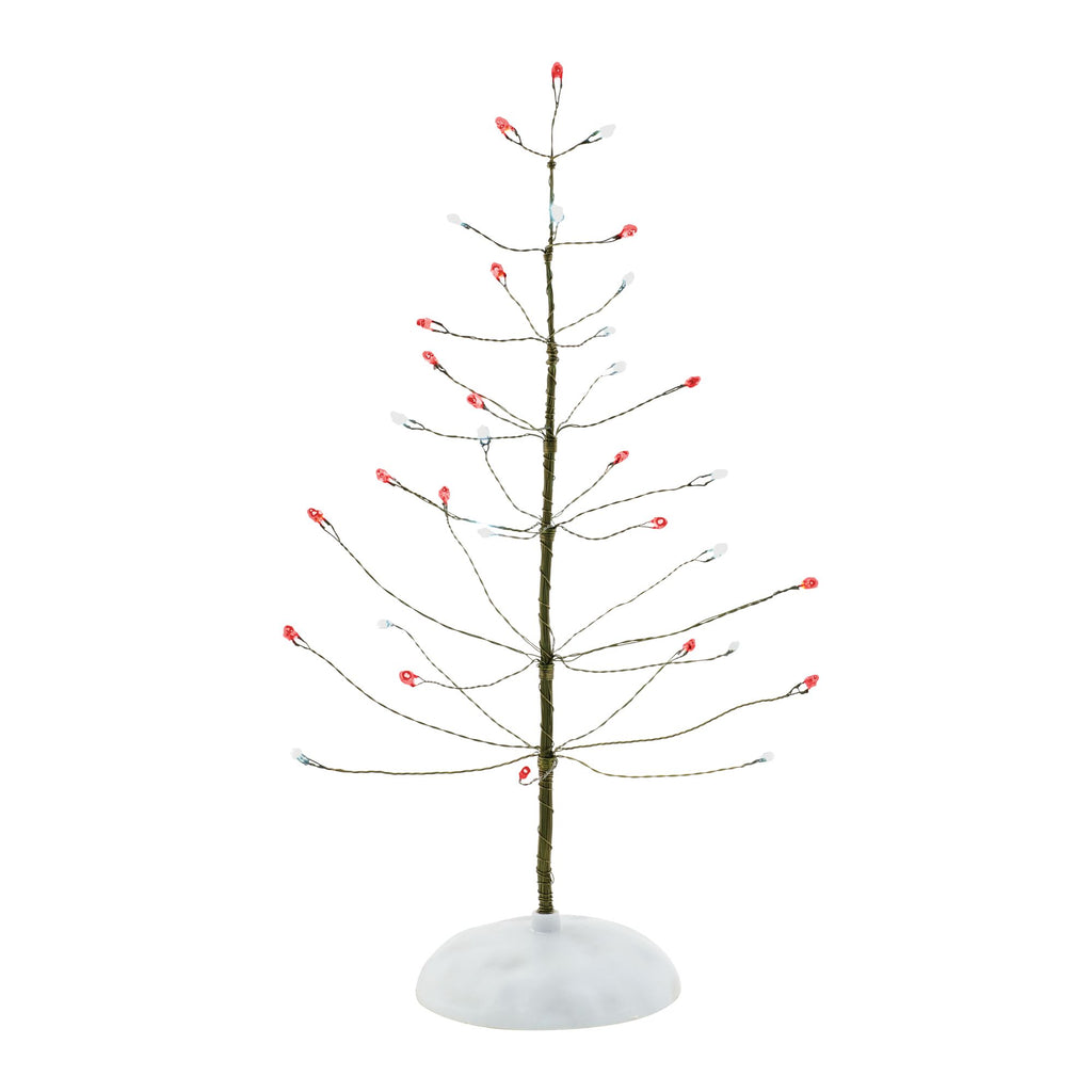 Red & White Twinkle Brite Tree