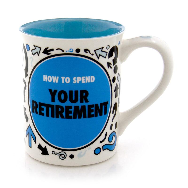 Retirement Spinner Mug