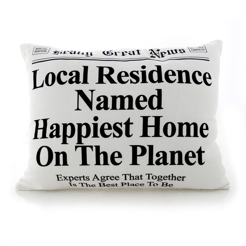 Happiest Home Pillow