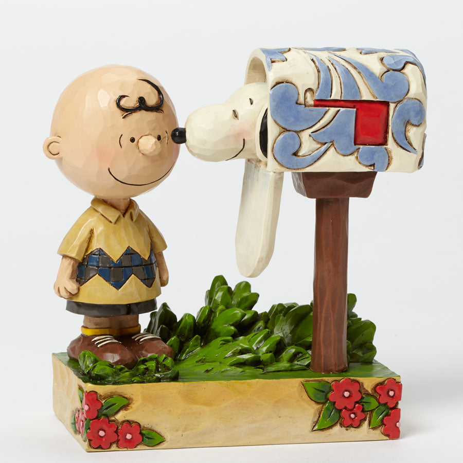 Charlie Brown & Snoopy Mailbox