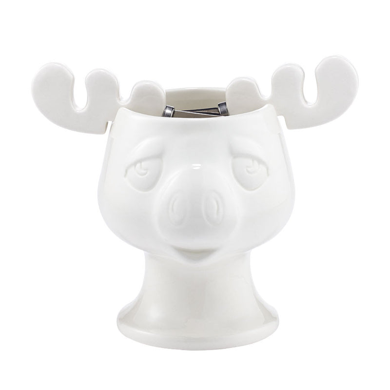Moose Mug Bowl & Spreaders