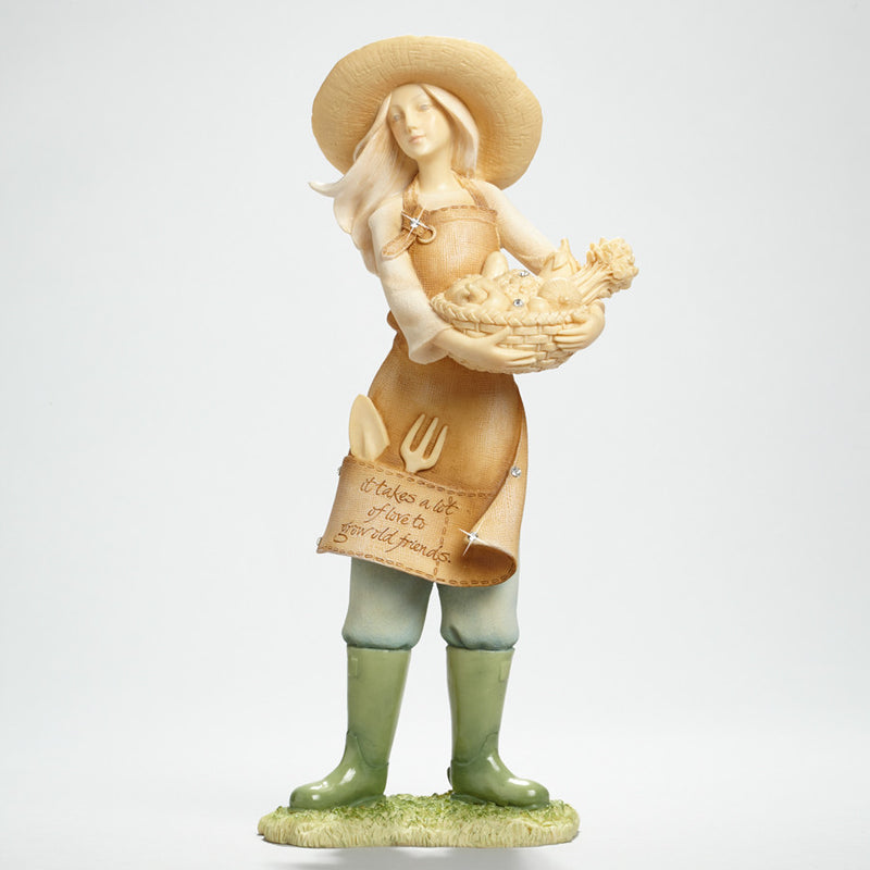 Gardening Friendship Figurine