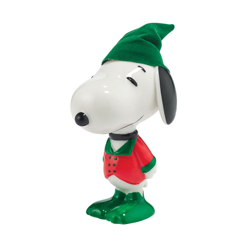 Holly Jolly Hound figurine
