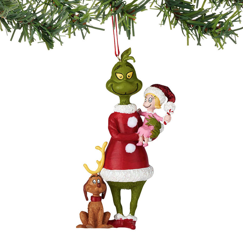 Classic Grinch Trio ornament