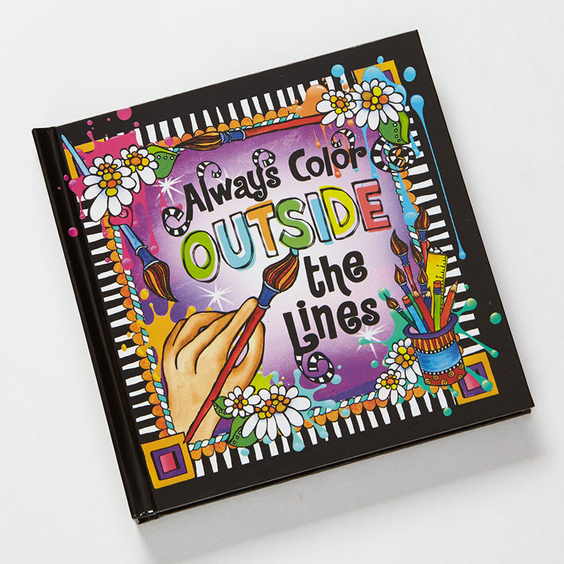 Color Outside/Lines Journal