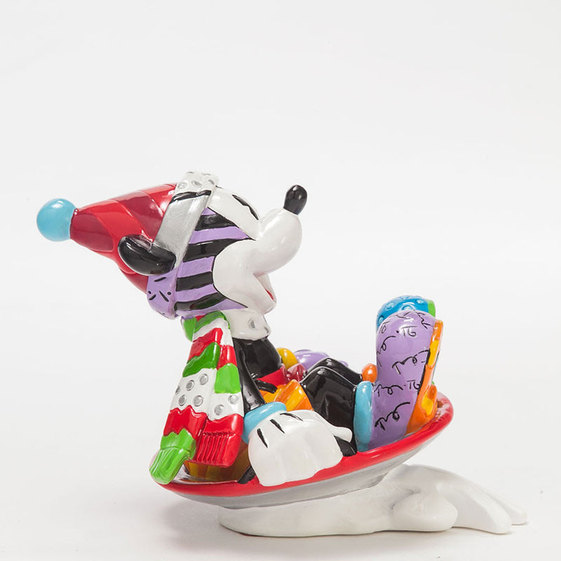 Mickey in Disk sled